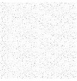 abstract background tiny black dots on a white vector image