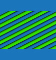 blue and green abstract background with stripes vector image vector image