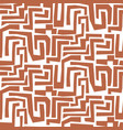 Hand drawn mosaic maze shapes abstract cuttings