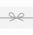 string bow isolated vector image
