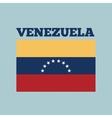 venezuela country flag vector image vector image