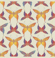 vintage decorative butterfly seamless pattern vector image vector image