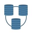 data center information digital vector image