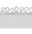 prison background vector image