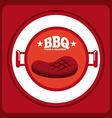 bbq menu vector image vector image