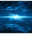 Futuristic digital background vector image