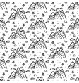 mountains seamless repeating pattern background vector image