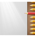 pencils and paper vector image