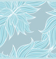 seamless floral background pattern wallpaper vector image