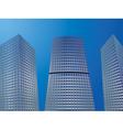 Skyscrapers2 vector image vector image