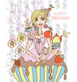 sweet queen vector image vector image