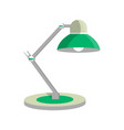 table light lamp icon in flat style vector image vector image