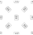 tax pattern seamless vector image vector image