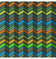 zigzag seamless pattern vector image vector image