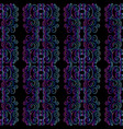 neo deco seamless pattern neon gradient vector image