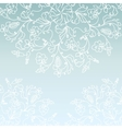 White paper snowflake background vector image