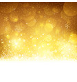 Christmas Gold Background vkr vector image vector image