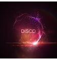 Disco neon sign vector image vector image