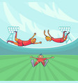 football players celebrating goal vector image vector image