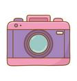 photographic camera icon vector image vector image