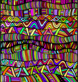 rainbow colors abstract pattern maze of ornaments