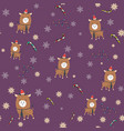 seamless pattern chinese happy new year year of vector image vector image