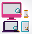 Tecnology design vector image vector image