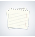 modern notebook on gray background Eps10 vector image