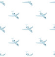 airplane icon in cartoon style isolated on white vector image vector image