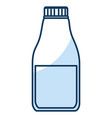 laundry product in plastic bottle vector image vector image