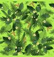 seamless pattern greeners vector image vector image