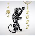 symbol year tiger vector image