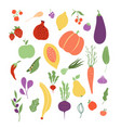 vegetables fruit fruits vegetable food healthy vector image
