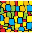 multicolor tiles abstract seamless background vector image