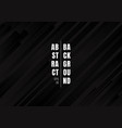 abstract geometric black and gray diagonal vector image vector image
