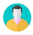 avatar icon man symbol avatar icon vector image vector image