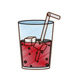 isolated soda design vector image vector image