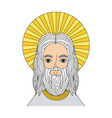 jesuschrist man icon vector image vector image