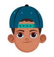 little kid avatar profile picture vector image vector image