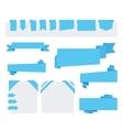 Origami speech bubble vector image vector image