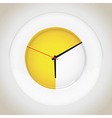 Plate clocks vector image vector image