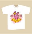 t-shirt print design little prince vector image vector image