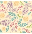 Abstract Leaves Seamless Pattern Background vector image vector image