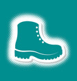 boots icon logo design vector image