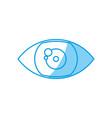 eye icon image vector image