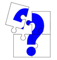 Question sign vector image vector image