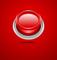Red button vector image