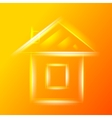 Small glass house vector image vector image