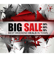Big Sale Best Discoount in time web banner for vector image vector image