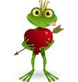 frog Princess vector image